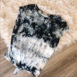 American Eagle Soft & Sexy Tye Dye Knot Top XL